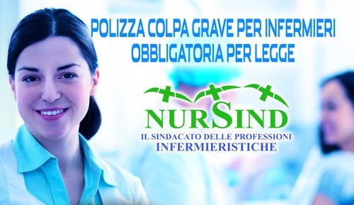 L'assicurazione per colpa grave copre tutti gli iscritti Nursind