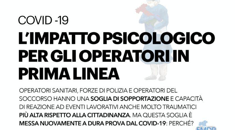 Covid – l'impatto psicologico per gli operatori in prima linea